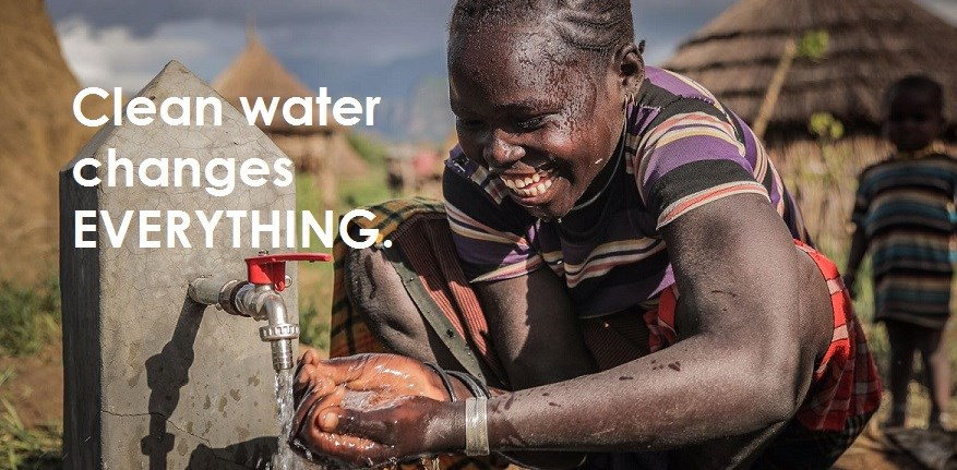 Clean water changes everything.