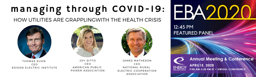 MANAGING THROUGH COVID-19:  HOW UTILITIES ARE GRAPPLING WITH THE HEALTH CRISIS